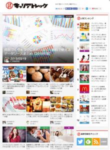 30万PV!日刊キャリアトレックがわずか1ヶ月半で達成