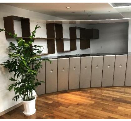 リフレッシュルーム新設、働きやすい環境づくりで社員を快適に