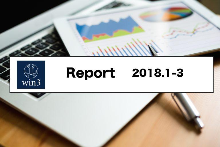 ウィンスリー、2018年1月~3月期の転職候補者および採用検討企業の動向を発表