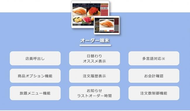 「ロボ化」で人材不足を解消。飲食店向けテーブルオーダーシステム「smao」、提供開始