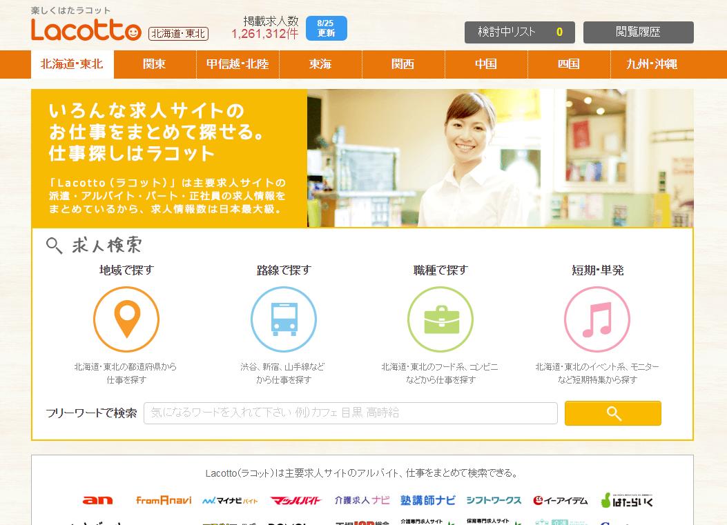 アルバイト・派遣情報サイト「Lacotto」、求人情報サイト「WorkGate」と提携開始