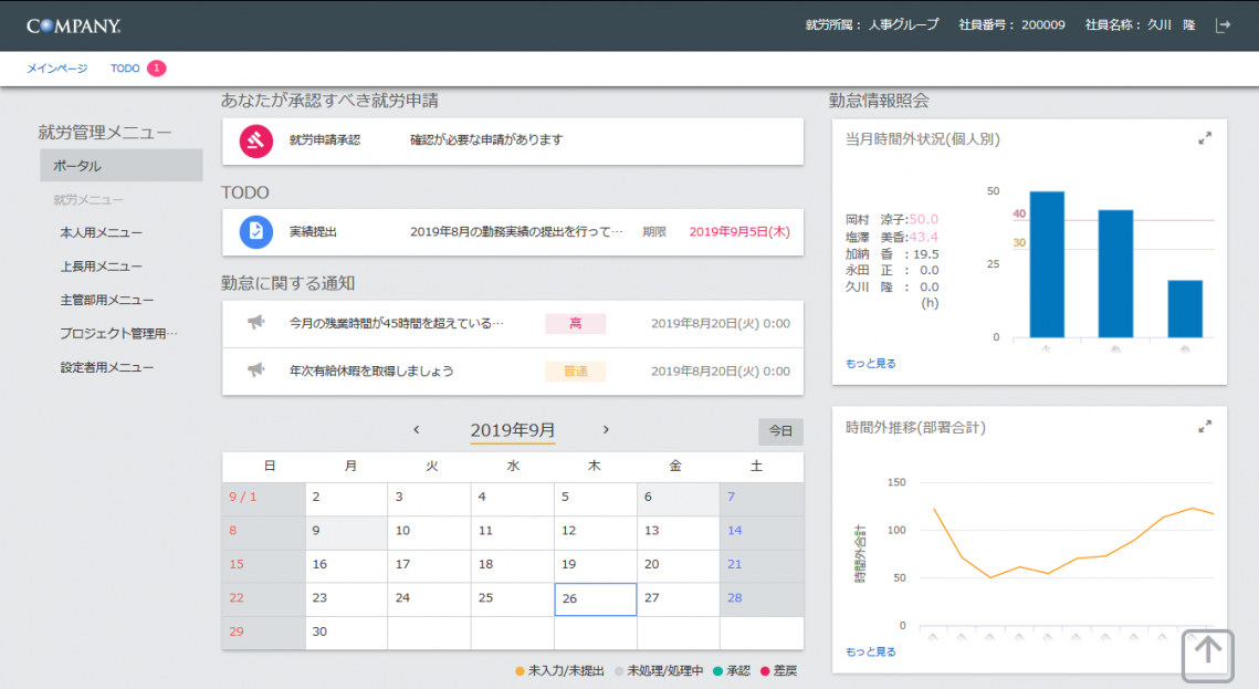 ワークスHIの勤怠システム「COMPANY 就労・プロジェクト管理」、ユニプレスが採用