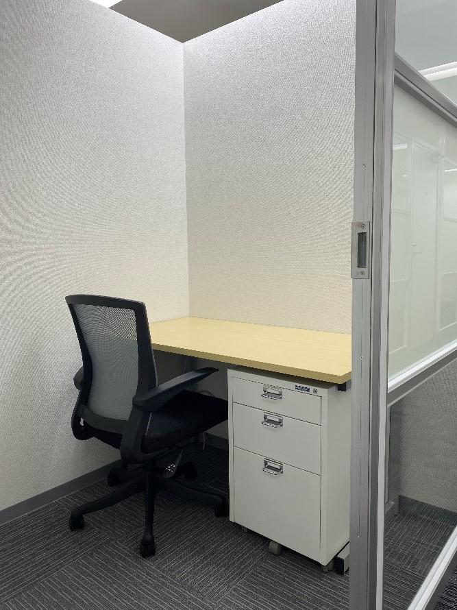 テレワークに使用可能。大阪『BAレンタルオフィス本町』、個室の時間貸し開始