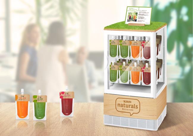 「食」の健康経営サービス「KIRIN naturals」、リモートワークに対応開始